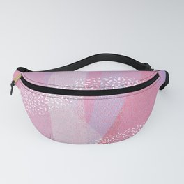 Walking Each Other Home - Ram Dass (pink) Fanny Pack