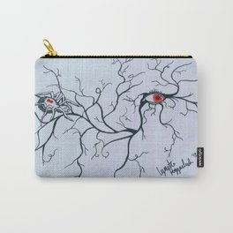 Eye in Spider Web- Ink Pen drawing Carry-All Pouch