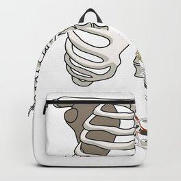 Rockstar Skeleton Backpack
