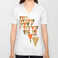 klimt V-neck T-shirts featuring New Klimt inspired by Angela Capacchione