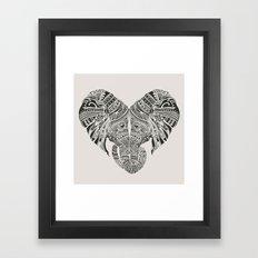 Huge Heart Framed Art Print