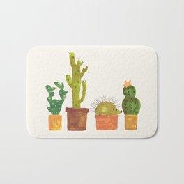 Hedgehog and Cactus (incognito) Bath Mat