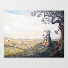 A rather Dalek afternoon Canvas Print