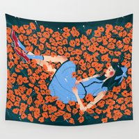 dorothy Wall Tapestries featuring Dorothy by Shaina Anderson
