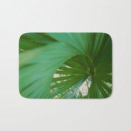 Curvy Fern Jungle Style Bath Mat
