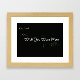 11:11 Framed Art Print