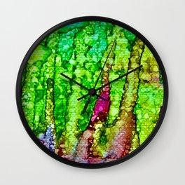 Green Avalanche of Environmental Restoration Wall Clock