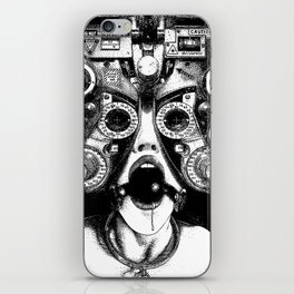 asc 712 - Le masque de la Méduse (Object woman) iPhone Skin