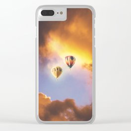 Bliss In The Skies Clear iPhone Case