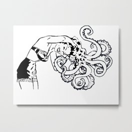 octomum Metal Print