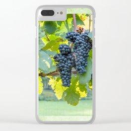 Sunlit Cluster Clear iPhone Case