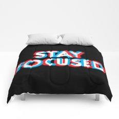 Stay Focused Comforters