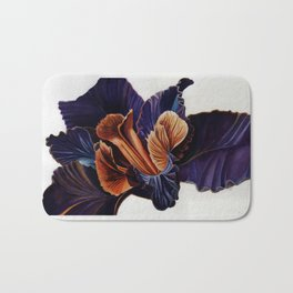 Black Iris Bath Mat