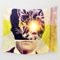 gentleman Wall Tapestries featuring Gentleman Fox by fiskofury