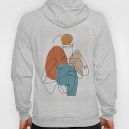Abstract Faces 28 Hoody