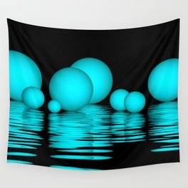 spheres and reflections -103- Wall Tapestry