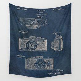Cazin Camera patent art Wall Tapestry
