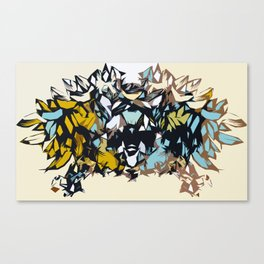 The Coyote Exposed Canvas Print