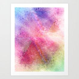 Prismatic Spectrum Art Print