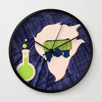 data Wall Clocks featuring Data Scientist by Ryan Hill