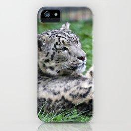 Aqua_Leopard_20180106_by_JAMColorsSpecial iPhone Case