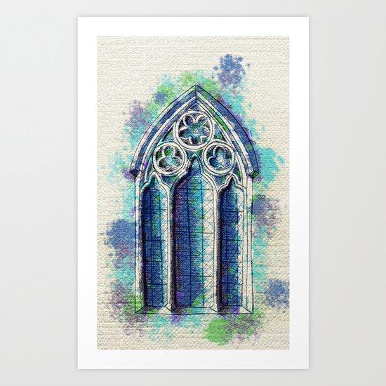 """Gothic Revival"" Art Print"