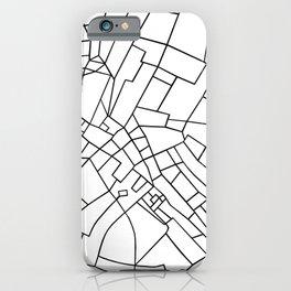 London Road Blocks White iPhone Case