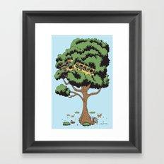 When Nature Wins Framed Art Print