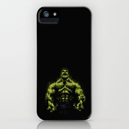 Green power iPhone Case