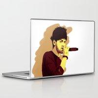 zayn malik Laptop & iPad Skins featuring Zayn by Intrepid Lens