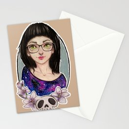 Lilie Girl Stationery Cards