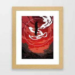 bnha: All For One Framed Art Print