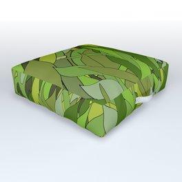 Lucky Bamboo in Porcelain Bowl Outdoor Floor Cushion