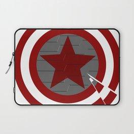 grey Shield Laptop Sleeve
