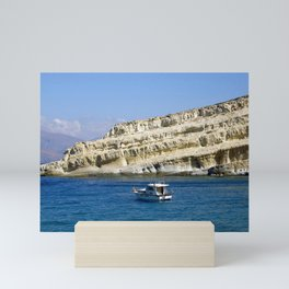 the rock Mini Art Print