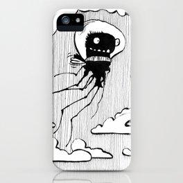 Flying squid – Seppiolina volante iPhone Case