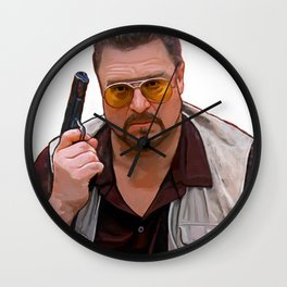 The Big Lebowski - Walter Wall Clock