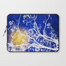 Blue Tree Art Laptop Sleeve