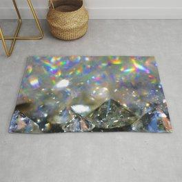 Rainbow Diamonds Rug