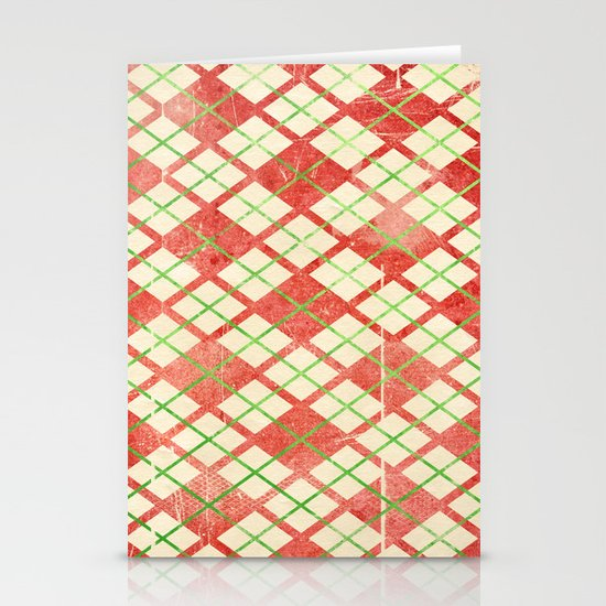 Vintage Wrapping Paper Stationery Cards