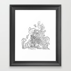 Reef Framed Art Print
