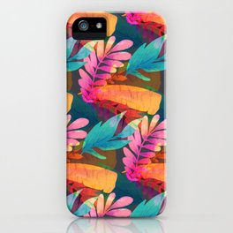 Tropical Leaves  14 iPhone Case