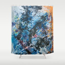 Your Universe Expanding Shower Curtain