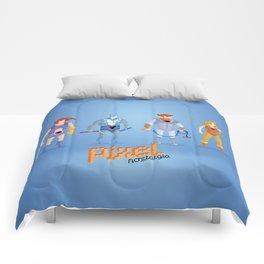 Thundercats - Pixel Nostalgia  Comforters