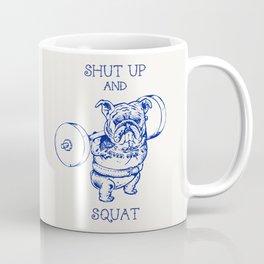English Bulldog Squat Coffee Mug