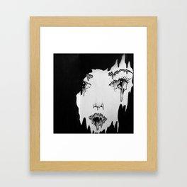 Melt. Framed Art Print