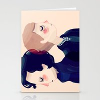221b Stationery Cards featuring 221B by Nan Lawson