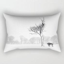 Winter Blizzard Rectangular Pillow