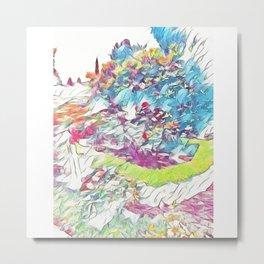 Garden of Colors Metal Print