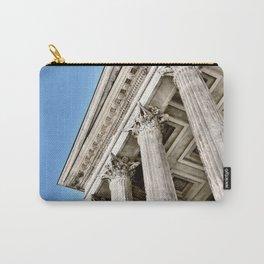 Roman Temple Corinthian Columns Nimes Provence France Carry-All Pouch